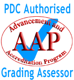 PDC Authorised Grading Assessor - Advancement and Accreditation Program (AAP)